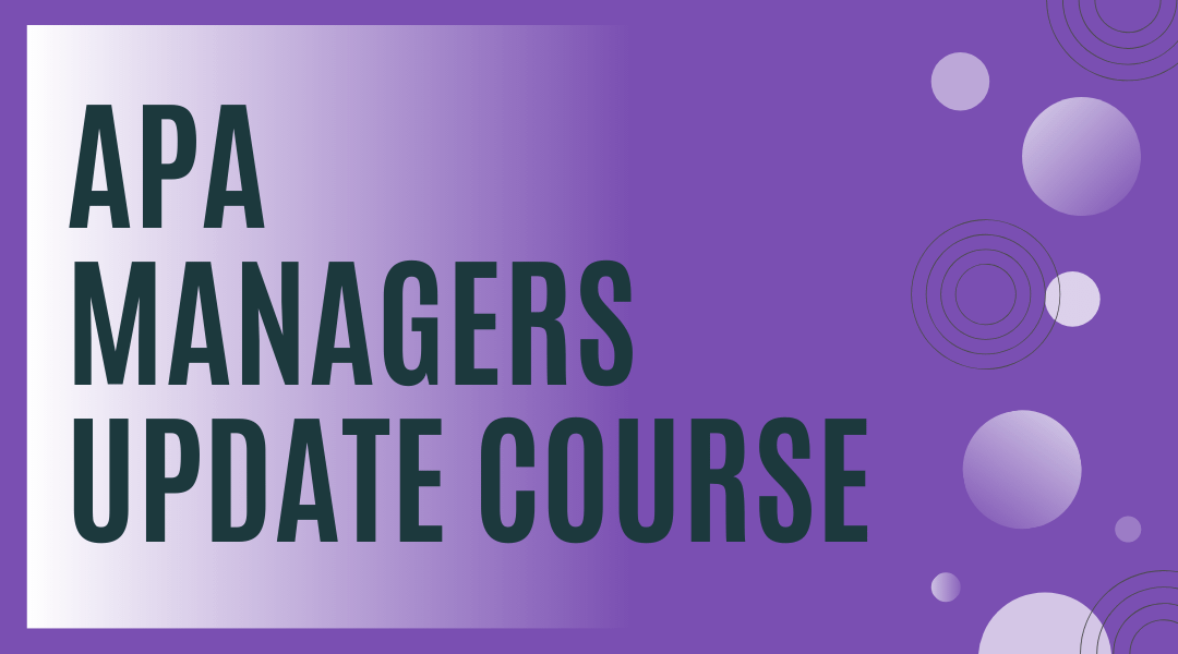 AP Managers Course